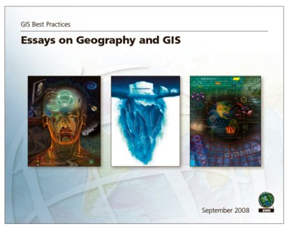 gis best practices essays on geography and gis