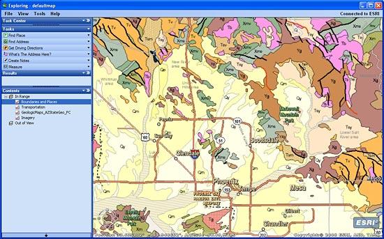 Geologic Map Of Arizona.Arizona Geologic Map Available Online Gis And Science