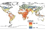 Mapping Human Vulnerability to Climate Change