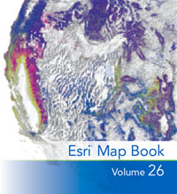 View the current Esri Map Book (Volume 26)