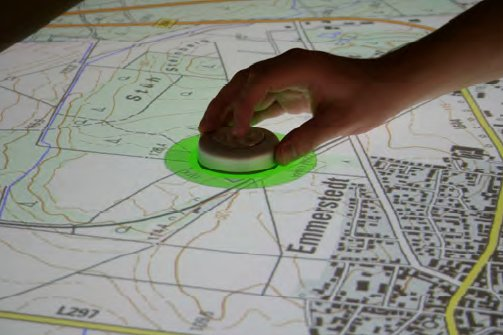 Interaction on the useTable (tangible)