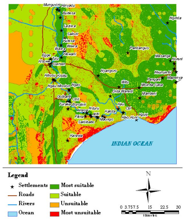 gis research papers related to agriculture