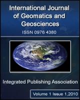 INTERNATIONAL JOURNAL OF GEOMATICS AND GEOSCIENCESInternational Journal of Geomatics and Geosciences