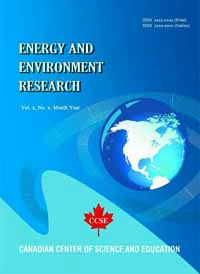 Energy and Environment Research