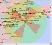 Spatial assessment of settlements in high-risk areas (e.g. New York JFK International Airport)