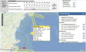 Wind energy site suitability web app