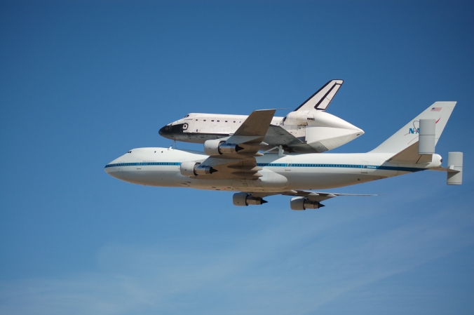 Photos: Space Shuttle Endeavour at Mojave Air and Space Port