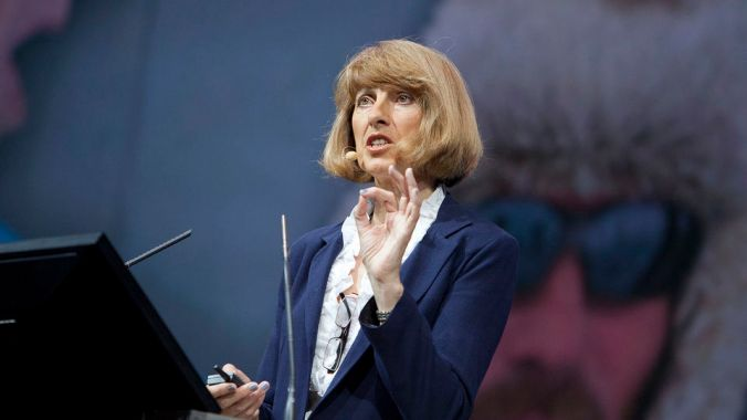 At the 2011 Esri International User Conference in San Diego, California, Prof. Jacqueline McGlade explained how just one degree of temperature change impacts the Earth and discussed how we can change our behavior to adapt to the realities of climate change.