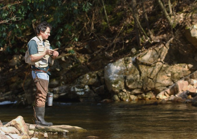 Freshwater recreational fishing, a popular pastime, generates income, jobs, and funding for conservation. Image: Virginia Tech