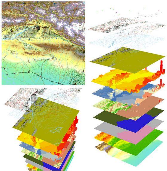 High resolution global gridded data for use in population studies